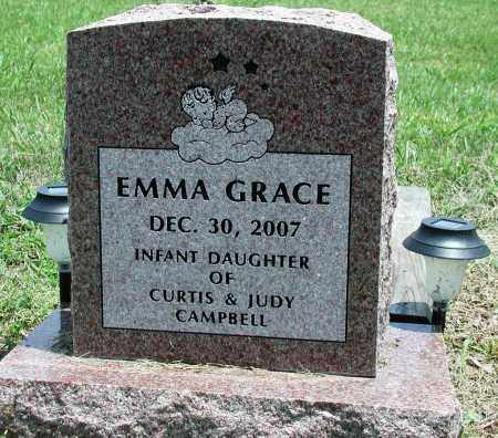CAMPBELL, EMMA GRACE - Newton County, Arkansas | EMMA GRACE CAMPBELL - Arkansas Gravestone Photos