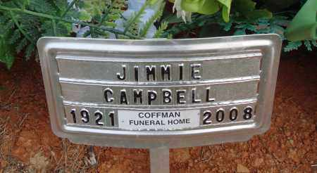 CAMPBELL, JIMMIE - Newton County, Arkansas | JIMMIE CAMPBELL - Arkansas Gravestone Photos