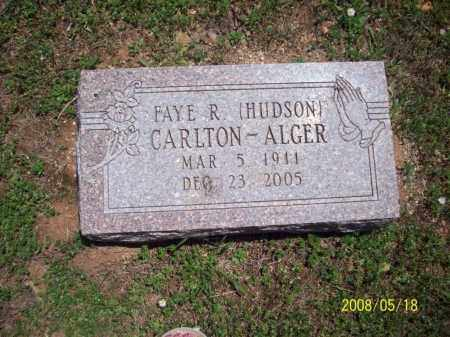 ALGER, FAYE R - Newton County, Arkansas | FAYE R ALGER - Arkansas Gravestone Photos