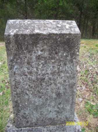 CARLTON, ALFRED - Newton County, Arkansas | ALFRED CARLTON - Arkansas Gravestone Photos