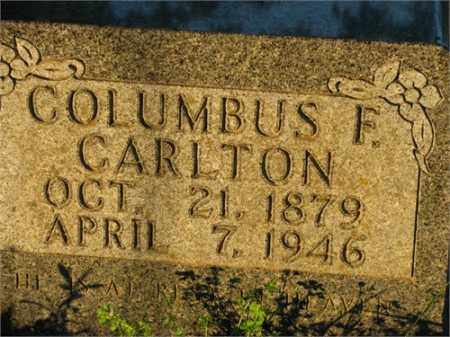 CARLTON, COLUMBUS F. - Newton County, Arkansas | COLUMBUS F. CARLTON - Arkansas Gravestone Photos
