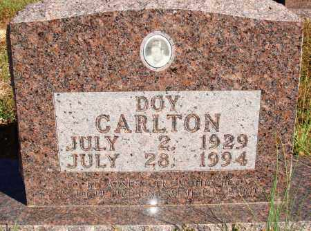 CARLTON, DOY - Newton County, Arkansas | DOY CARLTON - Arkansas Gravestone Photos