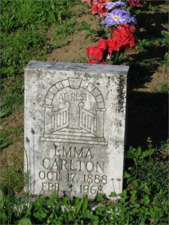 CARLTON, EMMA - Newton County, Arkansas | EMMA CARLTON - Arkansas Gravestone Photos