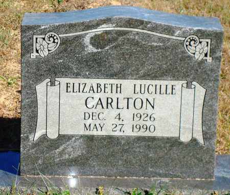 CARLTON, ELIZABETH LUCILLE - Newton County, Arkansas | ELIZABETH LUCILLE CARLTON - Arkansas Gravestone Photos