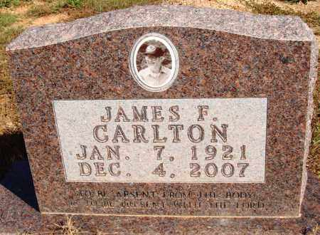 CARLTON, JAMES F. - Newton County, Arkansas | JAMES F. CARLTON - Arkansas Gravestone Photos