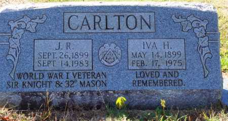 CARLTON, IVA H. - Newton County, Arkansas | IVA H. CARLTON - Arkansas Gravestone Photos