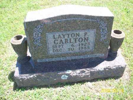 CARLTON, LAYTON P - Newton County, Arkansas | LAYTON P CARLTON - Arkansas Gravestone Photos