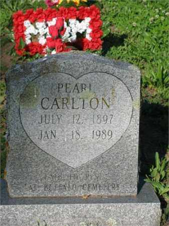 CARLTON, PEARL - Newton County, Arkansas | PEARL CARLTON - Arkansas Gravestone Photos