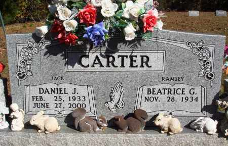 "CARTER, DANIEL J. ""JACK"" - Newton County, Arkansas 