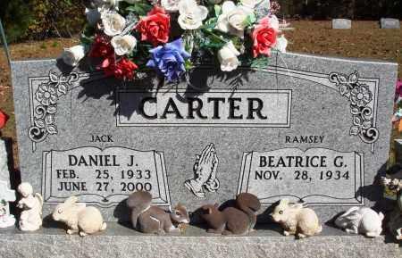 "CARTER, DANIEL J. ""JACK"" - Newton County, Arkansas | DANIEL J. ""JACK"" CARTER - Arkansas Gravestone Photos"