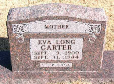 LONG CARTER, EVA - Newton County, Arkansas | EVA LONG CARTER - Arkansas Gravestone Photos