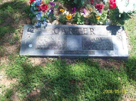 HICKMAN CARTER, ZURA ADA - Newton County, Arkansas | ZURA ADA HICKMAN CARTER - Arkansas Gravestone Photos