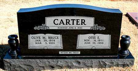 CARTER, OTIS E. - Newton County, Arkansas | OTIS E. CARTER - Arkansas Gravestone Photos