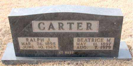 CARTER, BEATRICE M. - Newton County, Arkansas | BEATRICE M. CARTER - Arkansas Gravestone Photos