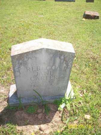 CARTER, REBECCA JANE - Newton County, Arkansas | REBECCA JANE CARTER - Arkansas Gravestone Photos