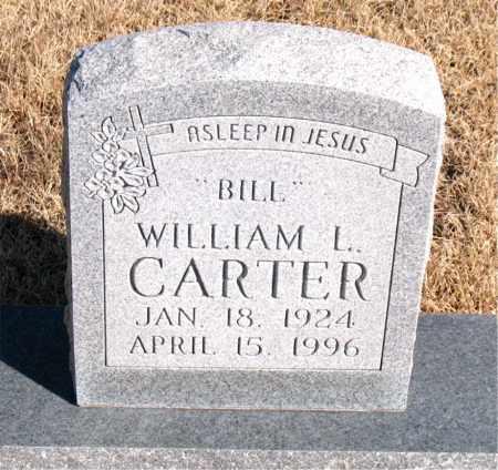 "CARTER, WILLIAM L. ""BILL"" - Newton County, Arkansas | WILLIAM L. ""BILL"" CARTER - Arkansas Gravestone Photos"