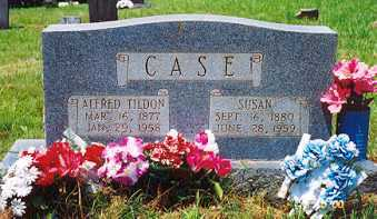 EASTEP CASE, SUSAN - Newton County, Arkansas | SUSAN EASTEP CASE - Arkansas Gravestone Photos