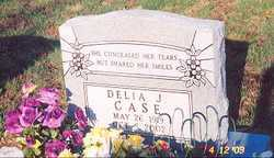 CASE, DELIA J. - Newton County, Arkansas | DELIA J. CASE - Arkansas Gravestone Photos
