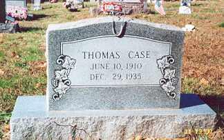 CASE, THOMAS LEWIS - Newton County, Arkansas | THOMAS LEWIS CASE - Arkansas Gravestone Photos