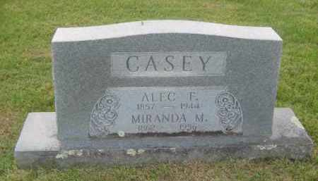 CASEY, MIRANDA MARGARET - Newton County, Arkansas | MIRANDA MARGARET CASEY - Arkansas Gravestone Photos