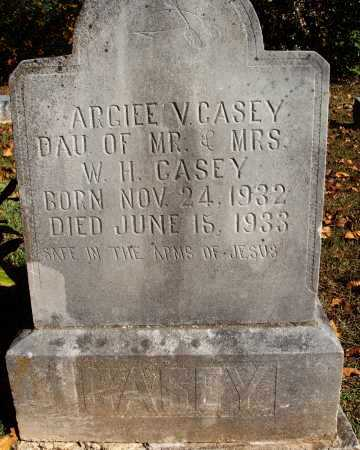 CASEY, ARGIEE V. - Newton County, Arkansas | ARGIEE V. CASEY - Arkansas Gravestone Photos