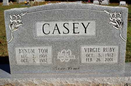 CASEY, BYNUM TOM - Newton County, Arkansas | BYNUM TOM CASEY - Arkansas Gravestone Photos