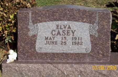 CASEY, ELVA - Newton County, Arkansas | ELVA CASEY - Arkansas Gravestone Photos