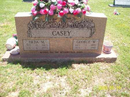 CASEY, GEORGE WASHINGTON - Newton County, Arkansas | GEORGE WASHINGTON CASEY - Arkansas Gravestone Photos
