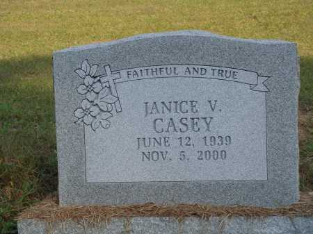 CASEY, JANICE V. - Newton County, Arkansas | JANICE V. CASEY - Arkansas Gravestone Photos