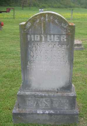 CASEY, JANE - Newton County, Arkansas | JANE CASEY - Arkansas Gravestone Photos