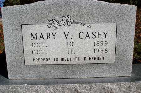 CASEY, MARY V. - Newton County, Arkansas | MARY V. CASEY - Arkansas Gravestone Photos