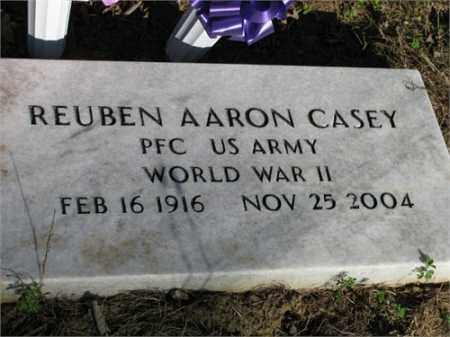 CASEY (VETERAN WWII), REUBEN AARON - Newton County, Arkansas | REUBEN AARON CASEY (VETERAN WWII) - Arkansas Gravestone Photos