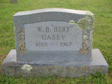 "CASEY, W. B. ""BERT"" - Newton County, Arkansas 