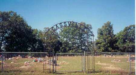 *CASSVILLE CEMETERY ENTRANCE,  - Newton County, Arkansas |  *CASSVILLE CEMETERY ENTRANCE - Arkansas Gravestone Photos
