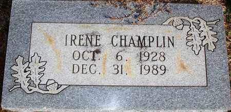 CHAMPLIN, BESSIE IRENE - Newton County, Arkansas | BESSIE IRENE CHAMPLIN - Arkansas Gravestone Photos