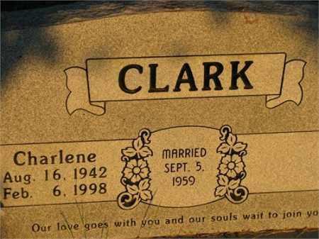 CLARK, CHARLENE - Newton County, Arkansas | CHARLENE CLARK - Arkansas Gravestone Photos