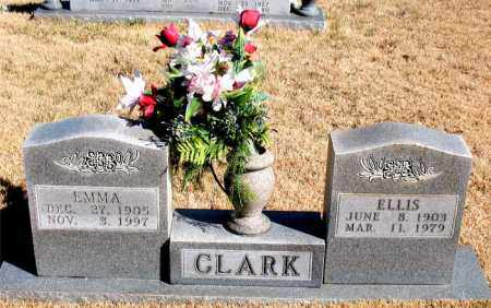 CLARK, EMMA - Newton County, Arkansas | EMMA CLARK - Arkansas Gravestone Photos
