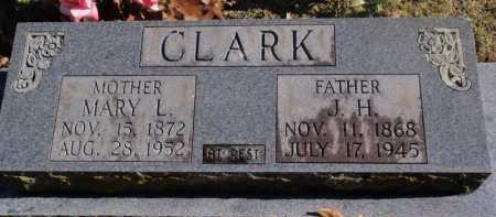 VILLINES CLARK, MARY LUCINDA - Newton County, Arkansas | MARY LUCINDA VILLINES CLARK - Arkansas Gravestone Photos