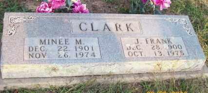 CLARK, MINEE M. - Newton County, Arkansas | MINEE M. CLARK - Arkansas Gravestone Photos