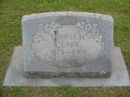 CLARK, KIMBREL H. - Newton County, Arkansas | KIMBREL H. CLARK - Arkansas Gravestone Photos