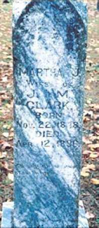 CLARK, MARTHA JANE - Newton County, Arkansas | MARTHA JANE CLARK - Arkansas Gravestone Photos
