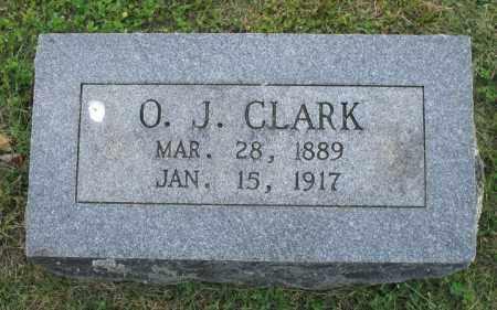 CLARK, O. J. - Newton County, Arkansas | O. J. CLARK - Arkansas Gravestone Photos