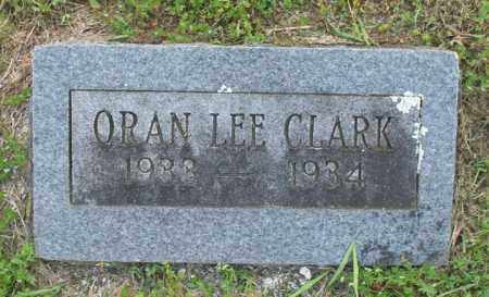 CLARK, ORAN LEE - Newton County, Arkansas | ORAN LEE CLARK - Arkansas Gravestone Photos