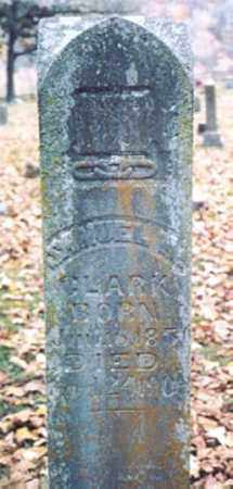 CLARK, SAMUEL HARVEY - Newton County, Arkansas | SAMUEL HARVEY CLARK - Arkansas Gravestone Photos
