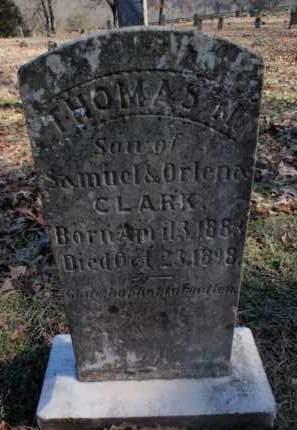 CLARK, THOMAS M. - Newton County, Arkansas | THOMAS M. CLARK - Arkansas Gravestone Photos