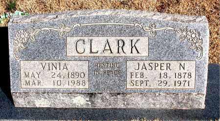 CLARK, JASPER N. - Newton County, Arkansas | JASPER N. CLARK - Arkansas Gravestone Photos