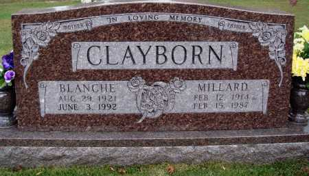 CLAYBORN, MILLARD - Newton County, Arkansas | MILLARD CLAYBORN - Arkansas Gravestone Photos