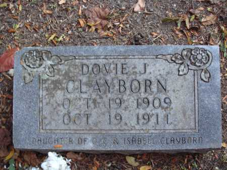 CLAYBORN, DOVIE J. - Newton County, Arkansas | DOVIE J. CLAYBORN - Arkansas Gravestone Photos
