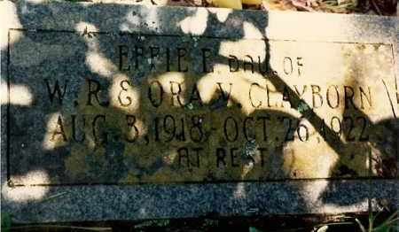 CLAYBORN, EFFIE - Newton County, Arkansas | EFFIE CLAYBORN - Arkansas Gravestone Photos