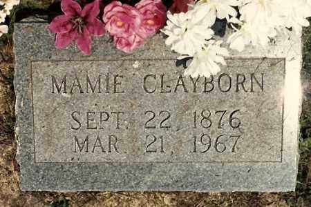 CLAYBORN, MAMIE - Newton County, Arkansas | MAMIE CLAYBORN - Arkansas Gravestone Photos